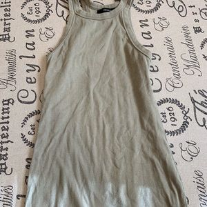 Olive Tank Dress